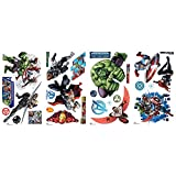 RoomMates RMK2242SCS Avenger Assemble Peel and Stick Wall Decals