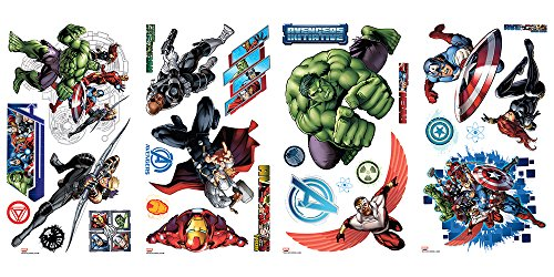 Hulk Peel - RoomMates Avengers Assemble Peel and Stick Wall Decals
