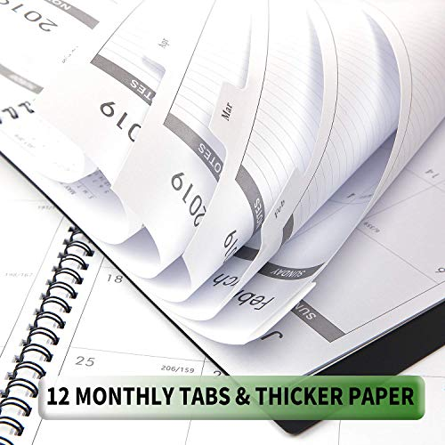 2019 monthly planner 2019 planner with tabs pocket import it all