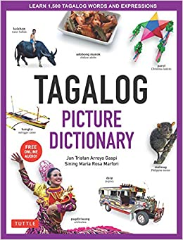 Amazon com: Tagalog Picture Dictionary: Learn 1500 Tagalog Words and