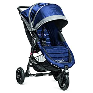 Baby Jogger City Mini GT - Cochecito urbano, color azul y gris