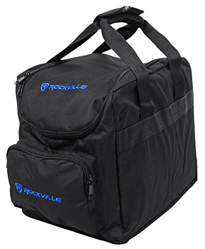 Rockville Bag for (4) Par Lights SlimPAR 64 or RGBA + Controller (RLB25) ()