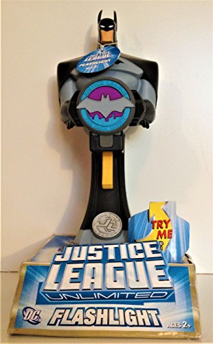 DC Comics: Justice League Unlimited Toy Quest Figural Flashlight- - Light Figural