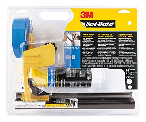 3M Pre-Assembled Masking Film & Tape Kit 1Ea ()