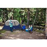 Coleman 6-Person Instant Tent Blue