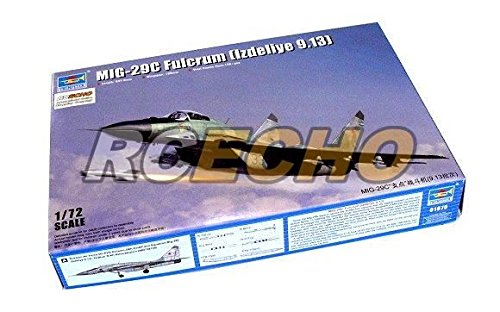 RCECHO® TRUMPETER Aircraft Model 1/72 MIG-29C Fulcrum (Izdeliye 9.13) Hobby 01675 P1675 with RCECHO® Full Version Apps Edition