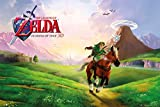 "The Legend Of Zelda: Ocarina Of Time - Gaming Poster (Size: 36"" x 24"") (By POSTER STOP ONLINE)"