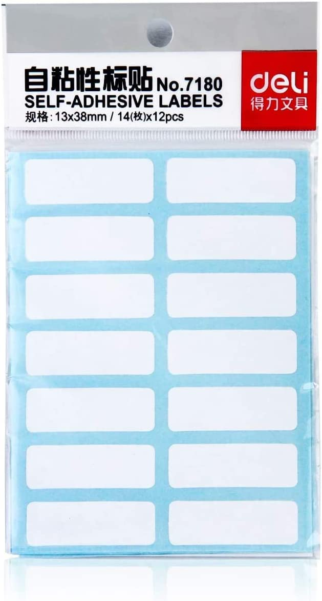 70x30mm White Self Adhesive Label Stickers Small Freeze Document Address Storage
