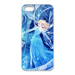 Frozen Snow Queen Princess Elsa Cell Phone Case for Iphone 5s