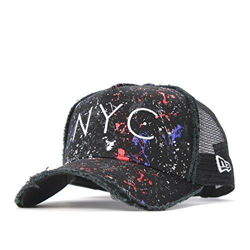 New Era(ニューエラ) 940 スナップバック キャップ ディーフレームトラッカー ダメージ ニューヨークシティ 11404668 11597942