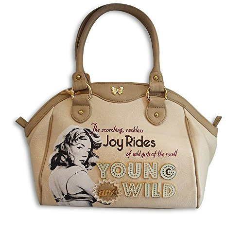 Design amp; Wild Donna Young Fix Beige Borsa A8EZx