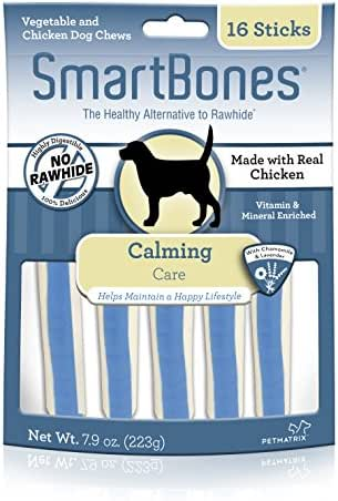 Dog Treats: SmartBones Calming