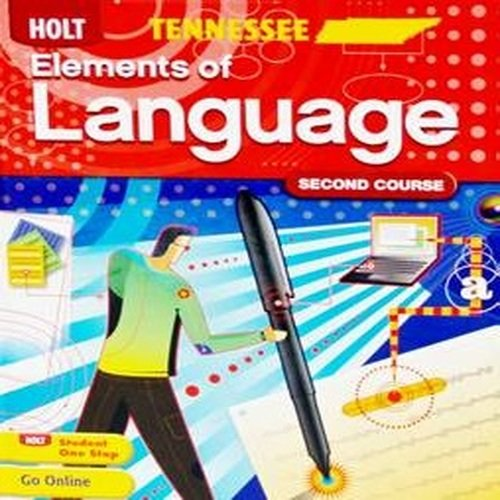 Elements of Language: Student Edition Grade 8 2011 by HOLT, RINEHART AND WINSTON
