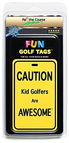 楽しいゴルフタグ ライト反射 4ラゲッジバッグ ゴルフバッグ バックパック/アクセサリーギフト   B077DC197W