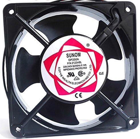 240V Aluminum Cooling Fan Computer 80 x 80 x 25mm SUNON 80mm AC 220V