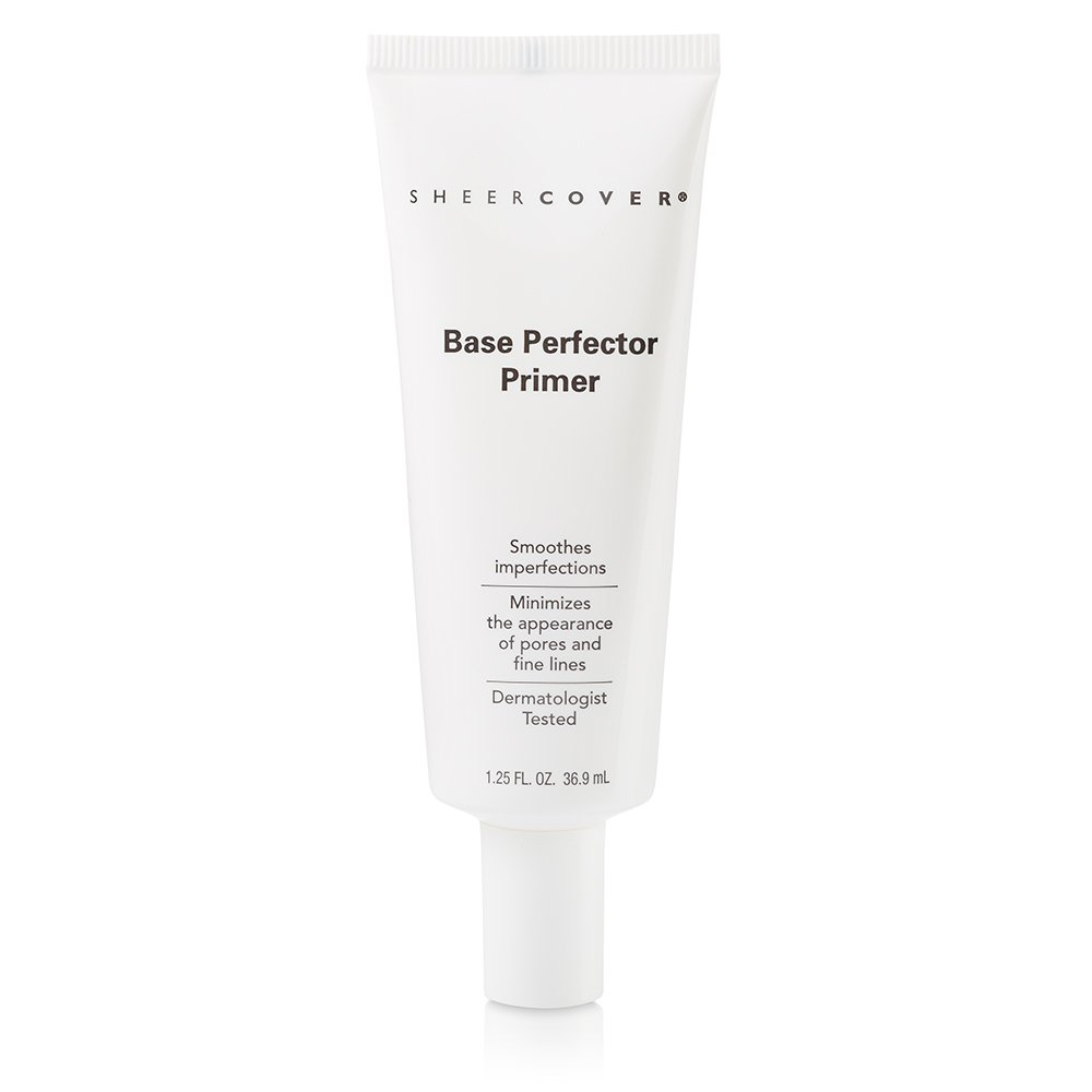 Sheer Cover – Base Perfector Primer – Helps Fill Fine Lines and Wrinkles for Makeup Application – 1.25 Ounce
