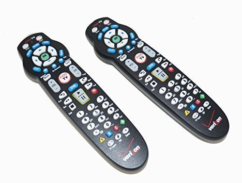 Set of TWO Frontier Remote Controls to Work with Verizon FiOS Systems, Model: p265 by Gadgets World