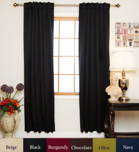 120 Inches Long Curtains Amazon Com
