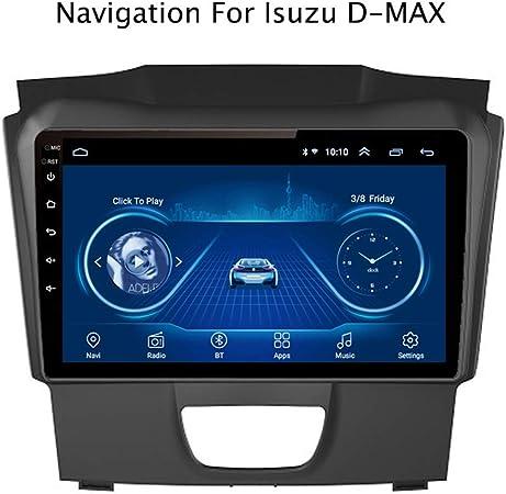 Android 8.1 Car GPS Navigation Radio TV, Radio Coche con Pantalla Táctil 9 Pulgadas, para Isuzu D-MAX DMAX 2015-2018, con Control Volante Bluetooth Link SD AUX Dab USB FM Am MP5: Amazon.es: