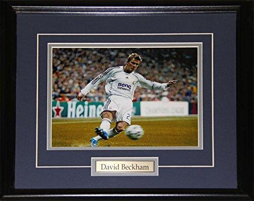 Los Angeles Galaxy Fan - Midway Memorabilia David Beckham Los Angeles Galaxy FC Soccer Football 8x10 Collector Frame