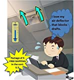 Air Deflector-4pack with #4873-4pack