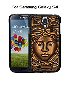 Versace Galaxy S4 Funda Case, Brand Logo Customized Solid Plastic Durable Rugged Anti Dust Fit for Samsung Galaxy S4 i9500