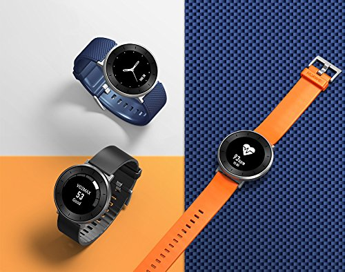 Huawei Fit Smart Fitness Watch (Moonlight Silver with Sport Band, Small) with Continuous Heart Rate Monitor (US Warranty)