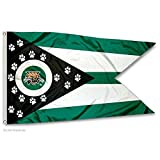 Ohio Bobcats State of Ohio Flag Review