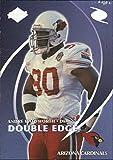 1998 Collector's Edge Odyssey Double Edge #9B Reggie White Andre Wadsworth F - NM-MT