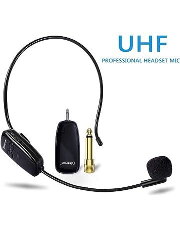 66a1e099381 Wireless Microphone, Soaiy&Bietrun, UHF Wireless Mic System Headset, 160 ft  (50M)