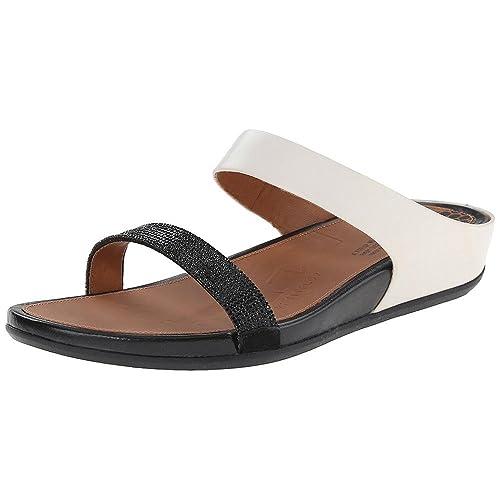 Originales En Línea Barata Fitflop Crystall II Slide amazon-shoes neri Alta Calidad Precio Barato Descuentos De Venta Línea Barata En Línea Precio Al Por Mayor 2oV3Ocmkj