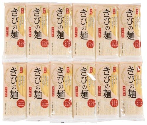 Natural potato buckwheat Kibinomen 200gX12 boxes by Buckwheat natural potato