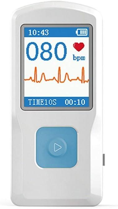 BLYL ECG/EKG Monitor electrocardiographe conectable con USB/Bluetooth