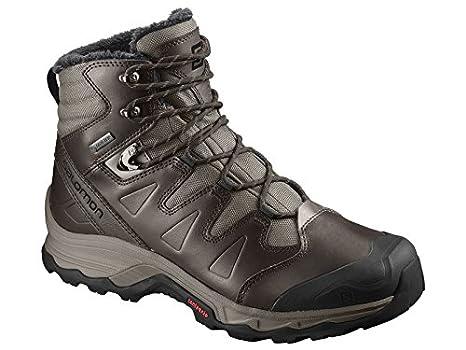 Salomon Quest Winter GTX?–?Scarpe Trekking Uomo, L40614100, Bungee Cord/Delicioso, 41.1/3