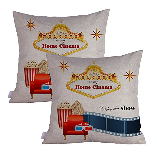 Music & Movie Themed Pillow