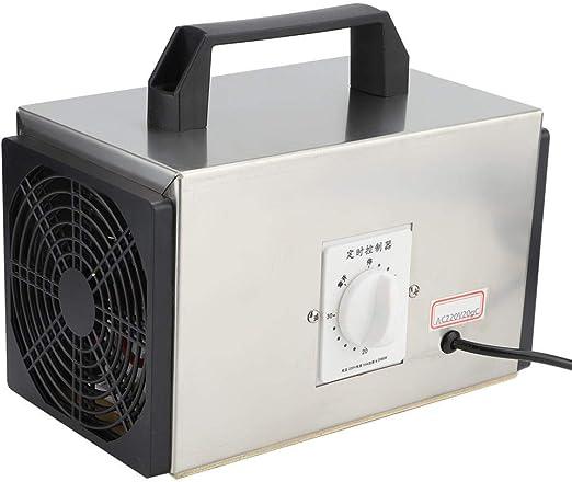 Máquina de desinfección, 20 g/h Purificador de aire industrial con interruptor de sincronización Máquina de desinfección portátil con filtro de aire para el hogar Invernadero Granja Trabajo Cobertizo: Amazon.es: Hogar
