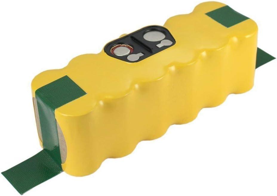 FUNMALL 14.4V 3000mAh Ni-MH Batteria Sostituzione per iRobot Roomba 500 600 700 800 Series 510 530 532 534 535 540 550 560 562 570 580 600 610 760 770 780
