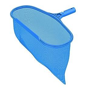 D-Mcark Professional Commercial Grade Heavy Duty Deep-Bag Pool Rake Swimming Pool Leaf Skimmer Net