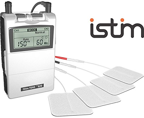 FDA Cleared TENS Unit iStim EV-820 TENS Machine for Pain Management, Back Pain and Rehabilitation