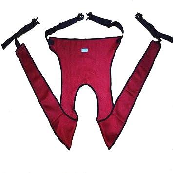 XIHAA Cinturones De Seguridad Antideslizantes para Sillas De Ruedas Médicas, Nalgas, Banda De Restricción