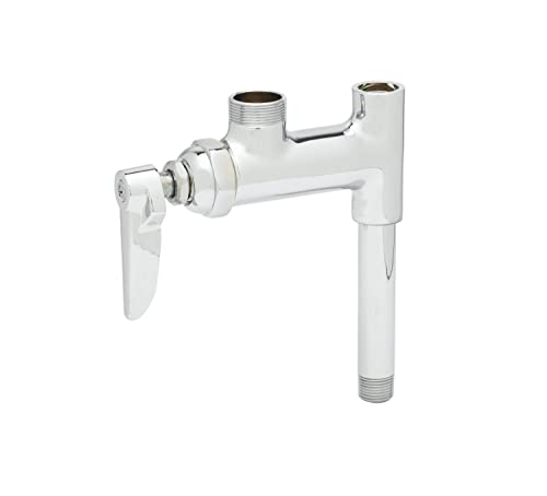 T S Brass B-0155-01LN Add-On Faucet with Less Nozzle and Lever Handle