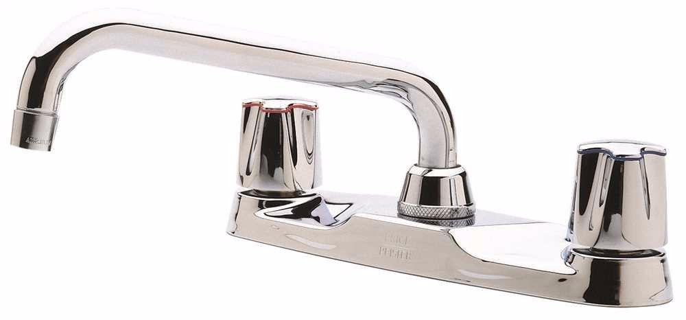Phoenix Products PF312301 Phoenix Nibco 2 Handle Bathroom Faucet Less Pop Up new