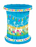 Inflatable Tropical Themed Drink Cooler for Outdoor Party - BBQ Picnic Pool Party Buffet Luau - Party Accessory - 22'' W. x 26'' H.