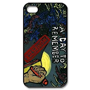 Customize Famous Rock Band A Day To Remember Back Case for iphone4 4S JN4S-1727