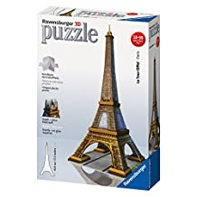 Ravensburger Eiffel Tower - 216 pc 3D Puzzle