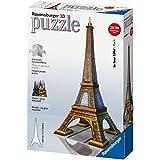Ravensburger Eiffel Tower 216 Piece 3D Building Set