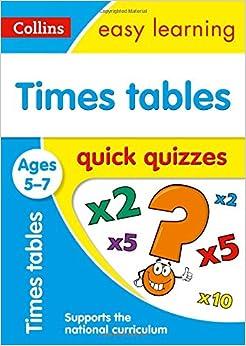 Descargar En Libros Times Tables Quick Quizzes Ages 5-7 Paginas De De PDF