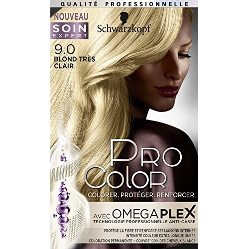 Pro Color Schwarzkopf Coloration Permanente Blond Très Clair 9.0