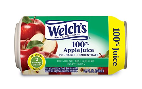 Welch's Apple Juice Concentrate, 11.5 oz - Pk of 12