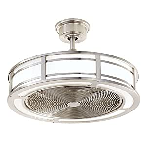 Amazon Com Brette Indoor Outdoor Ceiling Fan With Two 23w